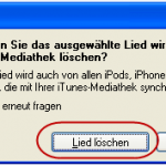 Screenshot 5: MP3-Datei als Klingelton für das iPhone