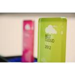 """ProCloud Award 2012 - Die Trophäe für den 1. Platz in der Kategorie """"Best Cloud Idea"""""""