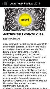 Jetztmusik-Festival Mannheim App Screenshot 4