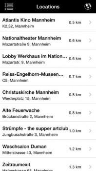 Jetztmusik-Festival Mannheim App Screenshot 2