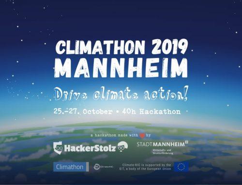 Climathon 2019 –  Nachbericht
